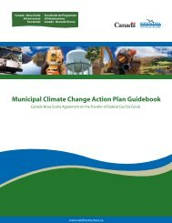 Municipal Climate Change Action Plan Guidebook - FCM