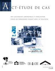 Des logements abordables à Vancouver pour les personnes - FCM