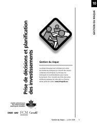 Gestion du risque - FCM