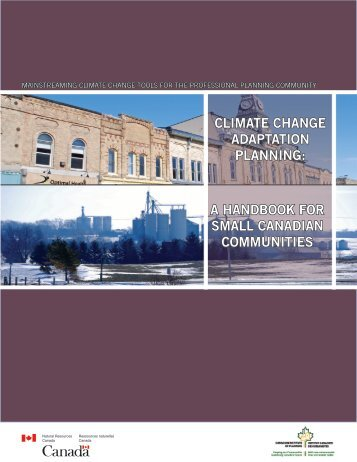 Handbook for Small Canadian Communities - FCM