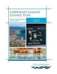 Corporate Climate Change Plan - FCM