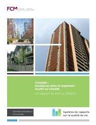 Complet : tendances dans le logement locatif au Canada Un ... - FCM
