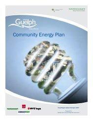 City of Guelph Community Energy Plan - FCM