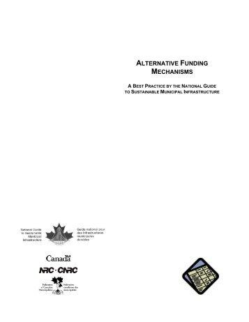 ALTERNATIVE FUNDING MECHANISMS - FCM