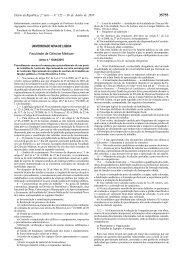 Aviso 13044/2010 - Faculdade de Ciências Médicas da ...