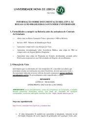 Informações úteis - Faculdade de Ciências Médicas da ...