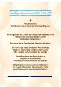 1er. congreso latinoamericano de formacion docente - Facultad de ... - Page 3