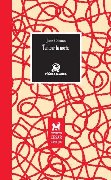 Tantear la noche - Fundación César Manrique