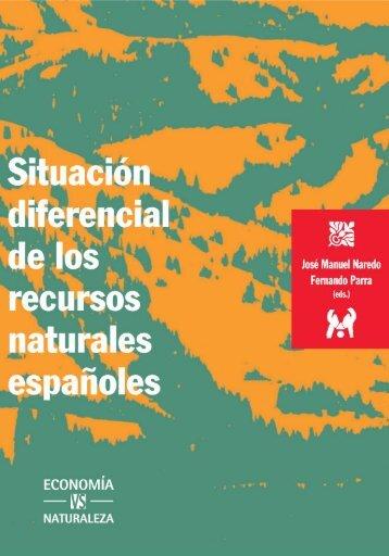 Libro completo. Situación diferencial de los recursos naturales