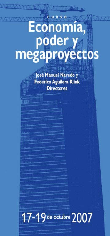 Tríptico del curso - Fundación César Manrique