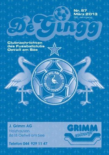 DeGingg_Ausgabe_57 - FC Oetwil am See