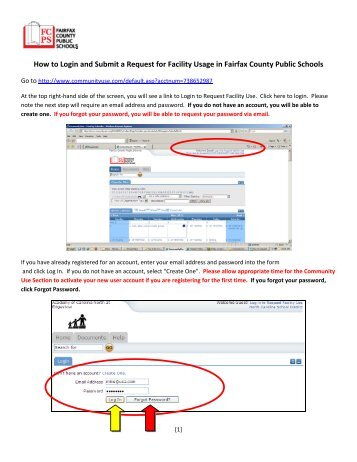 Community use how to request access to submit facilities requests how to request facility usage fairfax county public schools altavistaventures Image collections