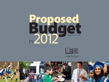 Proposed Budget Presentation - Fairfax County Public Schools