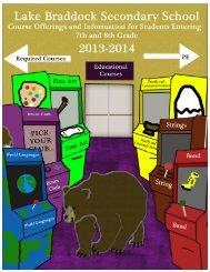 Course Selection Book - Fairfax County Public Schools