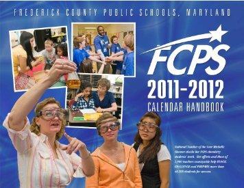 Calendar Handbook - Frederick County Public Schools