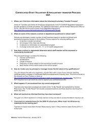 Teacher Transfer Process
