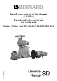 Gamme Range - Fluid Control Services