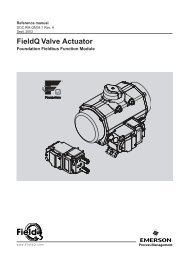 FieldQ Valve Actuator - Fluid Control Services
