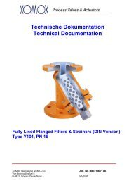 Technische Dokumentation Technical Documentation Fully Lined ...