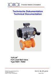 Technische Dokumentation Technical Documentation