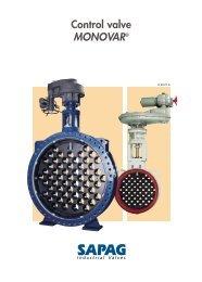SAPAG Monovar 8P AN - Fluid Control Services
