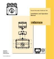 Installation and Operation Manual