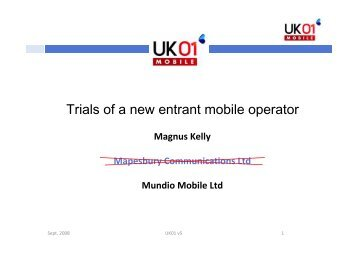 Magnus Kelly CP09 - Federation of Communication Services