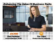 Digital Applications : Enhancing the Value of Business Radio