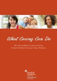 What Caring Can Do - Family & Children's Services