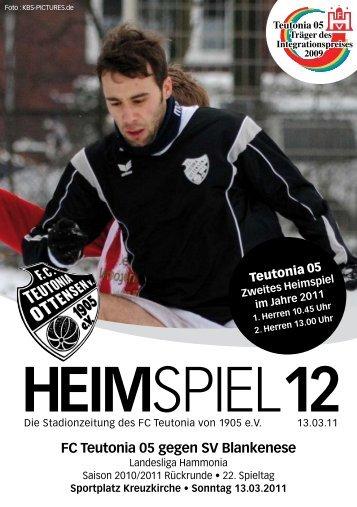 Heimspiel 12, T05 - SV Blankenese - FC Teutonia 05 eV