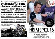 Heimspiel 13, T05 - HEBC - FC Teutonia 05 eV