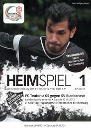Heimspiel 1, T05 - SV Blankenese - FC Teutonia 05 eV