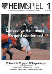 Heimspiel 1, T05 - FC Teutonia 05 eV