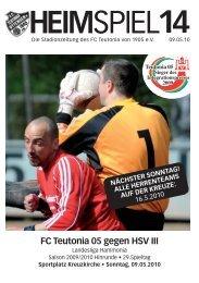 Heimspiel 14, T05 - FC Teutonia 05 eV