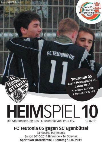 Heimspiel 10, T05 - SC Egenbüttel - FC Teutonia 05 eV