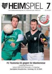 Heimspiel 7, T05 - SV Blankenese - FC Teutonia 05 eV