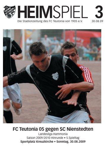 Heimspiel 3, T05 - SC Nienstedten - FC Teutonia 05 eV
