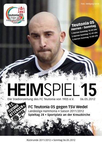 Heimspiel 16, T05 - Wedel - FC Teutonia 05 eV