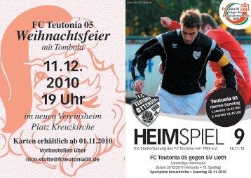 Heimspiel 9, T05 - SV Lieth - FC Teutonia 05 eV