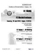 Heft 13 herunterladen - FC Töging - Seite 3