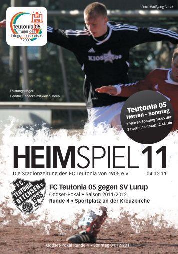 Heimspiel 11, T05 - Lurup - FC Teutonia 05 eV
