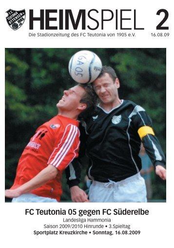 Heimspiel 2, T05 - FC Süderelbe - FC Teutonia 05 eV
