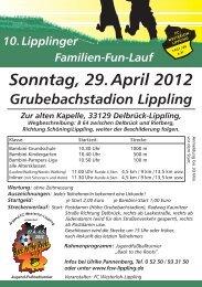 Sonntag, 29. April 2012 - FC Westerloh-Lippling