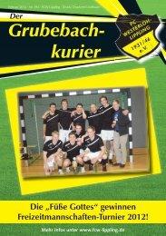 Grubebachkurier Nr. 195 - FC Westerloh-Lippling