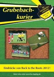 Grubebachkurier Nr. 198 - FC Westerloh-Lippling