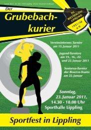 Grubebachkurier Nr. 184 - FC Westerloh-Lippling