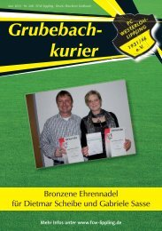 Grubebachkurier Nr. 208 - FC Westerloh-Lippling