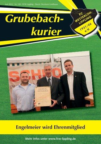 Grubebachkurier Nr. 199 - FC Westerloh-Lippling