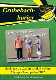 Grubebachkurier Nr. 201 - FC Westerloh-Lippling
