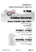 Heft 16 herunterladen - FC Töging - Seite 2
